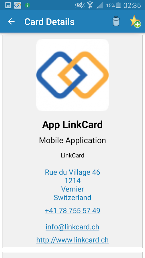 ScanPro - LinkCard- screenshot