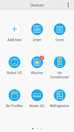 Samsung Smart Home Screenshot 2
