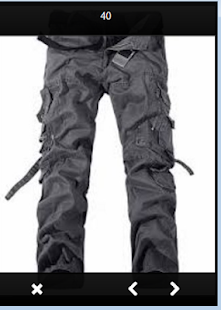 Design Pants Mountain - náhled