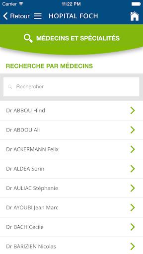 Hôpital Foch screenshot 2