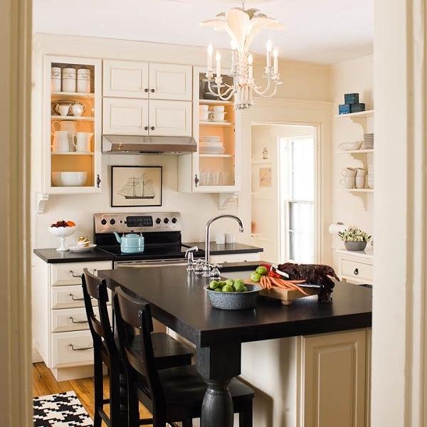 dapur, Tips Untuk Memaksimalkan Ruangan Dapur Yang Kecil