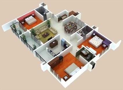 3d Home Floor Plan Designs Screenshot Thumbnail