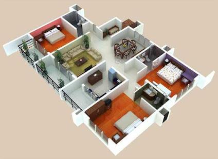 App 3d home floor plan designs apk for windows phone for 3d floor plan app