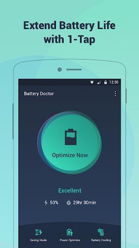 Battery Doctor-Battery Life Saver & Battery Cooler screenshot 1
