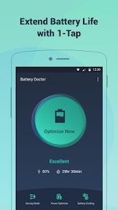 Battery Doctor-Battery Life Saver & Battery Cooler Mod 6.27 Apk [Unlocked] 1