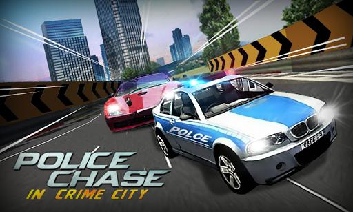 Police Chase In Crime City