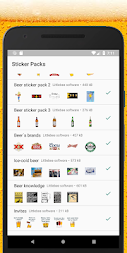 WAStickerApps beers stickers APK screenshot thumbnail 5