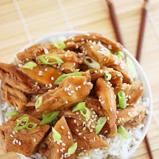 Slow Cooker Teriyaki Chicken.
