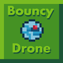 Bouncy drone icon