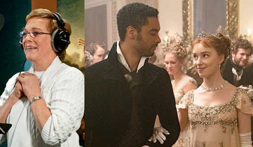 Yes, there are 22 'Bridgerton' cast members on Emmy ballot: Julie Andrews, Rege-Jean Page, Phoebe Dynevor …
