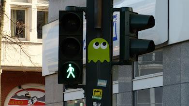 Photo: PacMan-Monster (Grün); PDOT