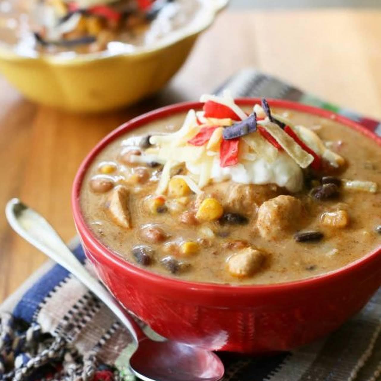 Spicy Chicken Enchilada Soup