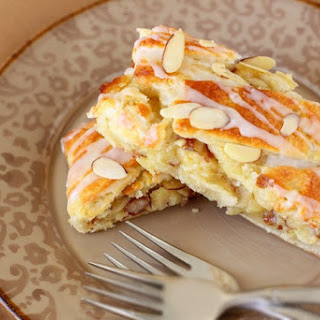 Buttery Almond Pastry Braid.
