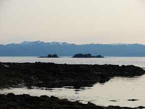 Photo: Guard Island and Clarence Strait from Point Higgins.