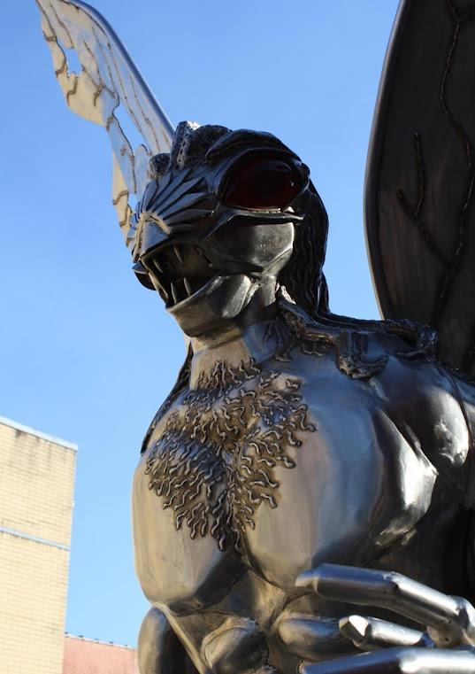 Mothman, o Homem Mariposa