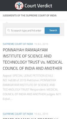 Supreme Court Cases 1960-2016 - screenshot