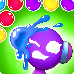 Mars Pop - Bubble Shooter Logo