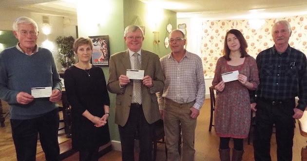 Charities taste Montgomery's generosity