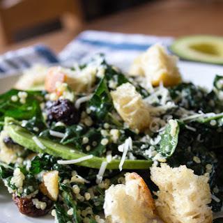 Kale & Quinoa Caesar Salad