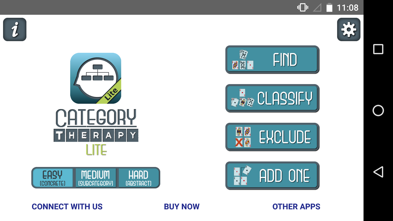 Category Therapy Lite- screenshot