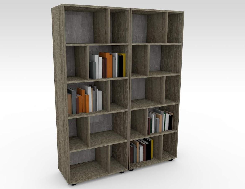 Фото Офисные шкафы для документов, Открытый стеллаж для офиса LOFT купить