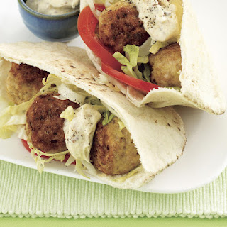 Curried Chicken Meatball Sandwiches