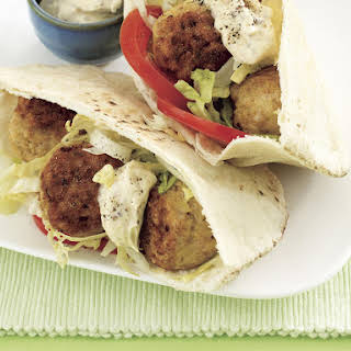 Curried Chicken Meatball Sandwiches.