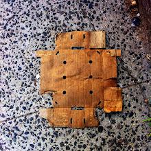 Photo: Cardboard Robot