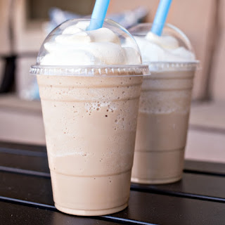 Homemade Frosted Coffee.