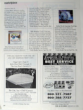 Photo: Lower right corner is one of the many ads designed for Spa Parts Plus, while I worked there, in 1999.