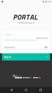 Portal for Binusmaya (Beta)- screenshot thumbnail