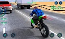 screenshot of Moto Traffic Race