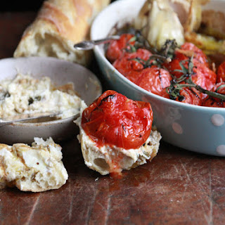 Roasted Tomato Crostini