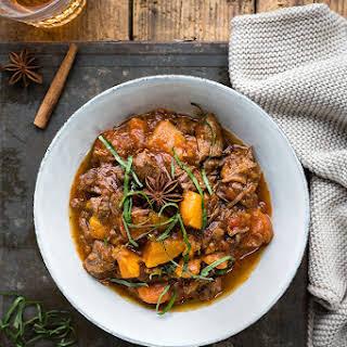 Pressure Cooker Vietnamese beef stew.
