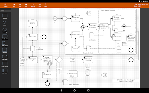Flowdia Diagrams Screenshot