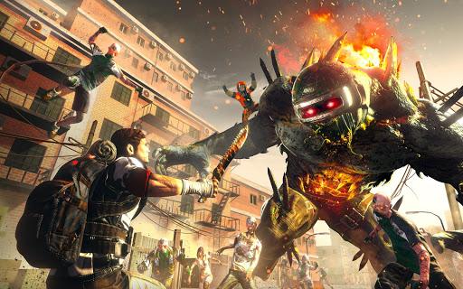ZOMBIE SHOOTING SURVIVAL: Offline Games apkdebit screenshots 11
