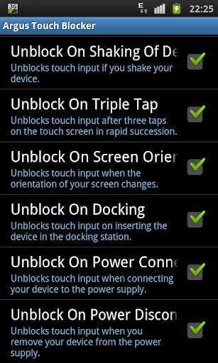 Touch Blocker / Disable Touch 2.2 screenshots 2