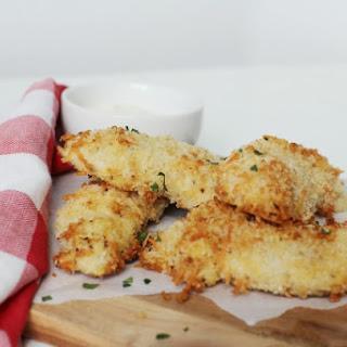 Crispy Baked Parmesan Chicken Strips Recipe