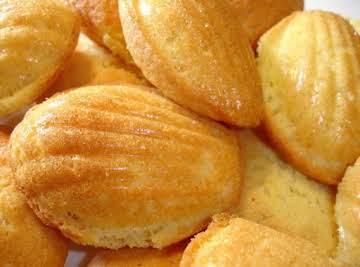 Orange-Cardamom Madeleines
