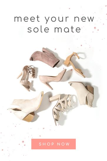 Meet Your New Sole Mate - Pinterest Pin template