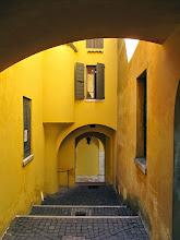 Photo: Yellow Street - Italy  #lagodigarda  #italy  #ilvittoriale  #streetphotography   http://www.gardameer.me/bezienswaardigheden-gardameer/il-vittoriale-degli-italiani/