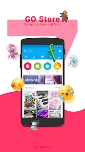 GO SMS Pro - Messenger, Free Themes, Emoji- screenshot thumbnail