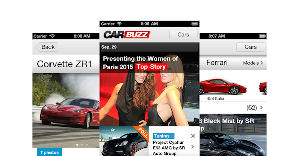 CarBuzz - Daily Car News- screenshot thumbnail