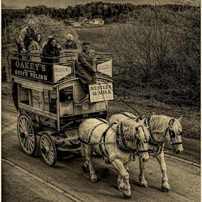 The only way to travel by Sandy Crowe - Transportation Other (  )