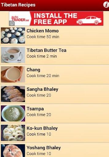Tibetan Recipes