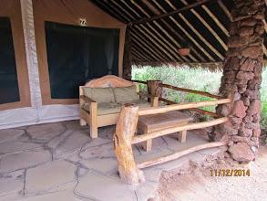 Photo: New tents at Kibo Safari Camp - Amboseli.   Much larger and more upmarket than previous dark green canvas tents