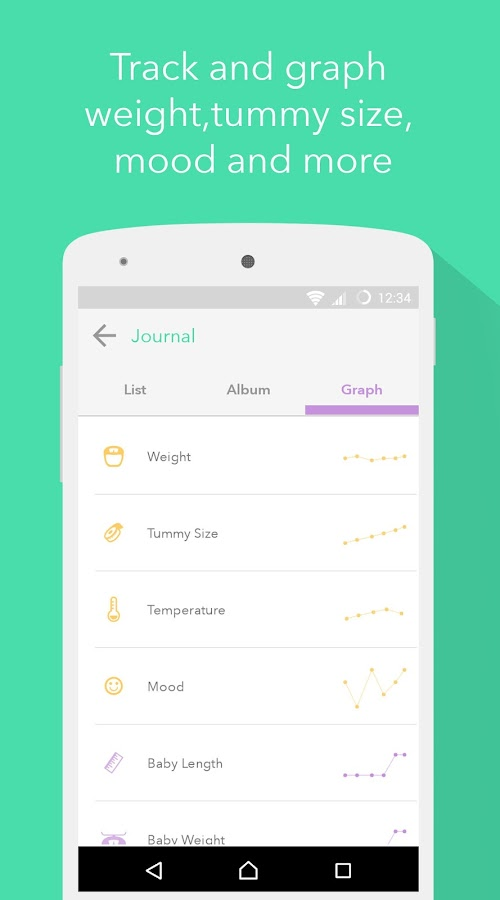 Pregnancy Tracker- screenshot