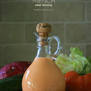 Creamy French Salad Dressing.