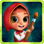 Masha Games Coloring Book, Painting Games for Kids