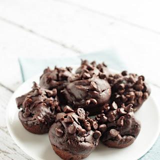Flourless Blender Chocolate Banana Mini Muffins